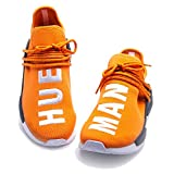 Human Race Sneaker Real Boost Casual Breathable Lightweight Mesh Shoes TANGERINE HUE MAN Men US 10