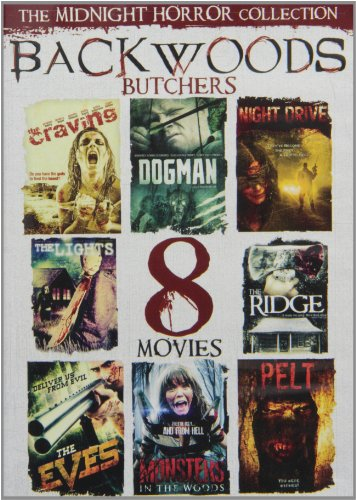 8-Movie Midnight Horror Collection: Backwoods [DVD] [Region 1] [US Import] [NTSC]