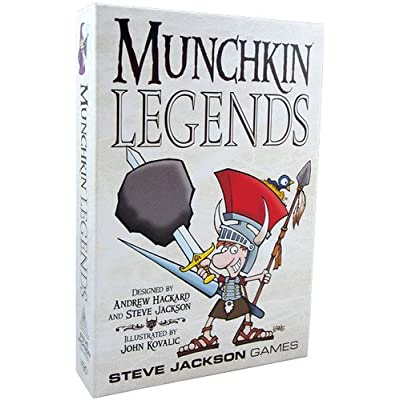 Steve Jackson Games Munchkin Legends Card Game: Toys & Games