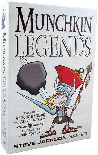 Steve Jackson Games Munchkin Legends Card Game
