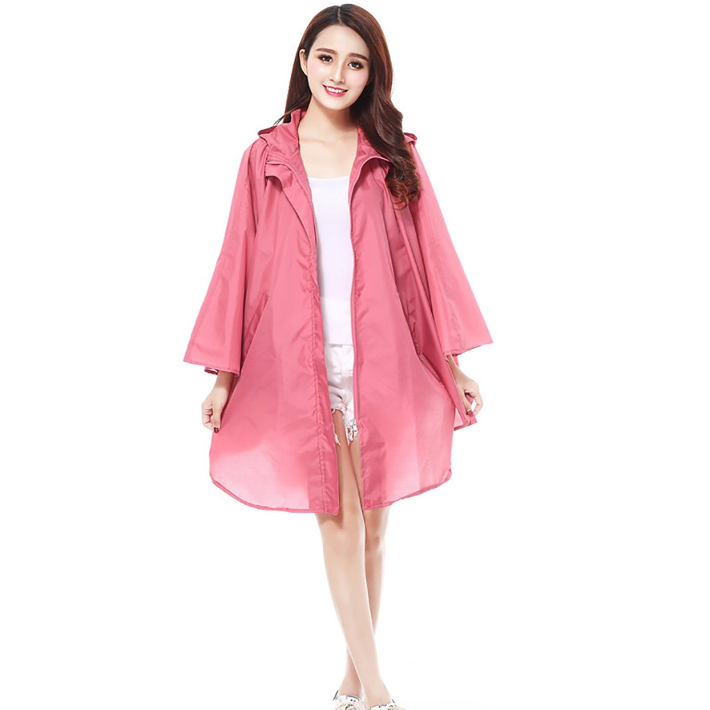 B Bicycle Raincoat Women's Waterproof Poncho for Outdoor Camping Hiking Travel (color   C)