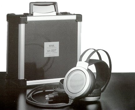 STAX SR-007A MK2 Electrostatic Earspeakers Japan Import