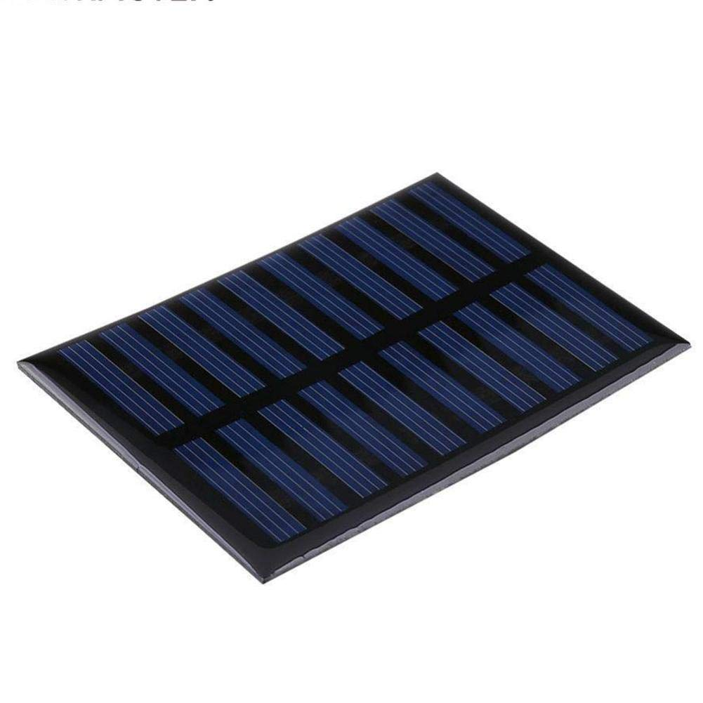 Solar Battery Charger Solar Battery Charger 5V 0.8W 160mA Charging Cell Phones, High Conversion Rate, High Efficiency Output, for Home Lighting