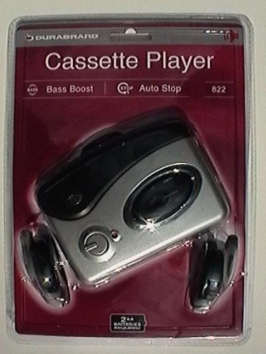 Durabrand Personal Portable Cassette Player - Model 822 by Durabrand