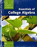 Essentials of College Algebra, Lial, Margaret L. and Hornsby, John, 0321687310
