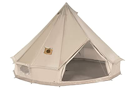 DANCHEL 4M Cotton Bell Tent with Two Stove Jacket (Top and wall)  sc 1 st  Amazon.com & Amazon.com : DANCHEL Cotton Bell Tent with Two Stove Jacket (Top ...