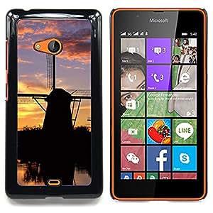 Stuss Case / Funda Carcasa protectora - Naturaleza Summer Sun Sunset Lake - Nokia Lumia 540