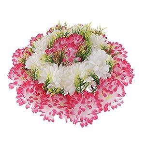 Baoblaze Artificial Handcraft Carnation Flower Arrangements in Grave Cemetery Wreath Flower 47