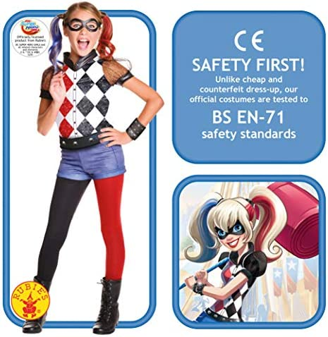 Harley quinn kids costume _image1