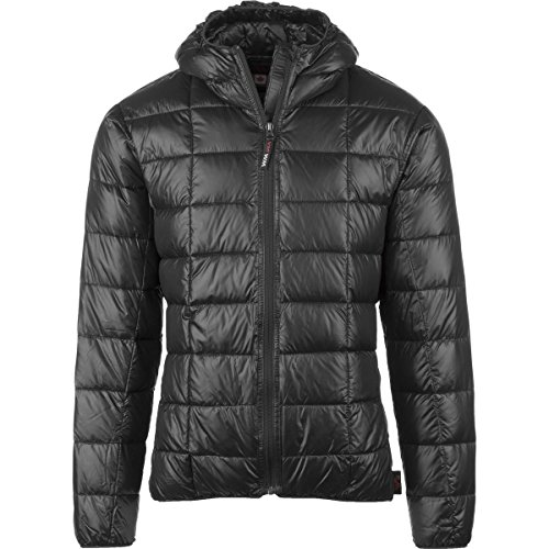 Western Mountaineering Hooded Flash Jacket - Men's Black XL (Mens Down Jacket 850 Fill)