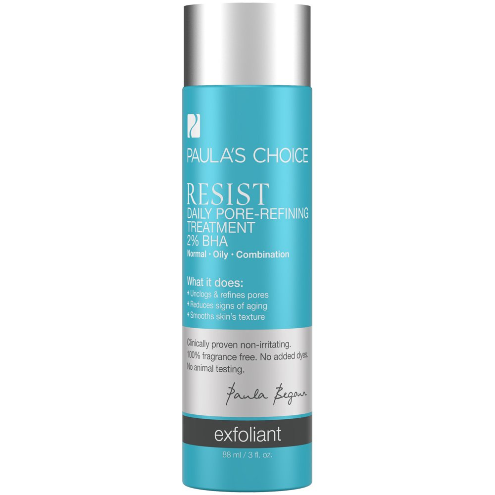 Paula's Choice--RESIST Daily Pore-Refining Treatment with 2% BHA Exfoliant--Facial Treatment for Large Pores, Normal, Oily & Combination Skin--1-3 oz Bottle
