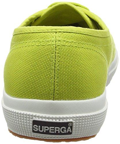 Superga Unisex-voksen Cotu 2750 Klassiske Lav-top Grøn (æblegrøn C28) Z2652he