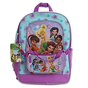 Disney Fairies Group Shot Medium Backpack With Detachable Purse