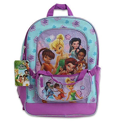 Disney Fairies - Group Shot Medium Backpack With Detachable Purse