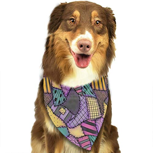 Triangle Sally Costumes - Dog Bandana Sally Ragdoll Scraps Triangle