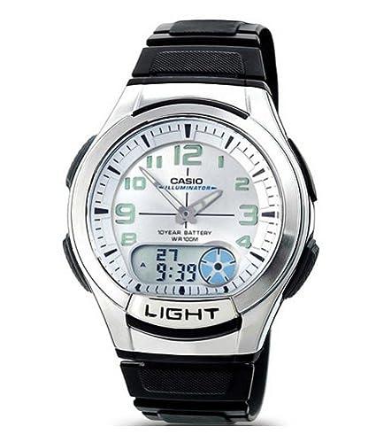 3986a7634b51 Reloj Casio Collection para Hombre AQ-180W-7BVES  Amazon.es  Relojes