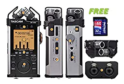 TASCAM DR-44WL Portable Recorder with a Free Patriot 32GB SD Card