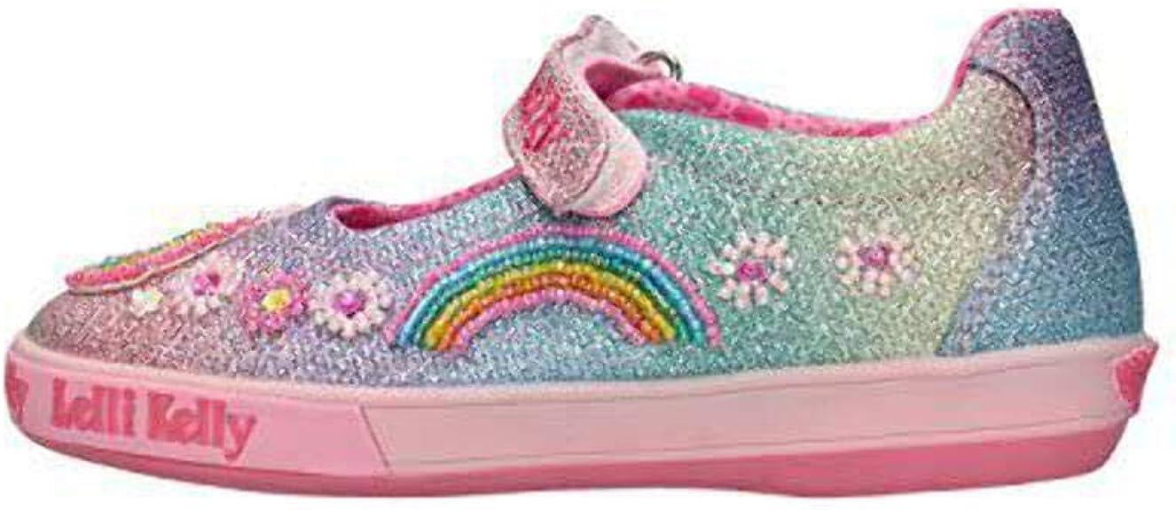 Lelli Kelly Girls Beaded Canvas Shoe LK9000 UNICORN