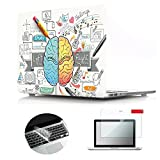 Best Decal Covers For Apple Macs - Se7enline MacBook Pro Case Pattern Soft Touch Hard Review