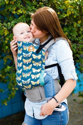 Tula Ergonomic Baby Carrier - Standard - Gossamer by Baby Tula