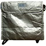 Big Sky International Insulite Cozy Food Pouch, Metallic Silver
