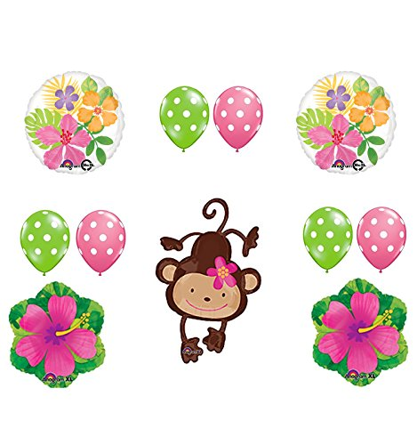 Mod Monkey Party Supplies Birthday or Baby Shower