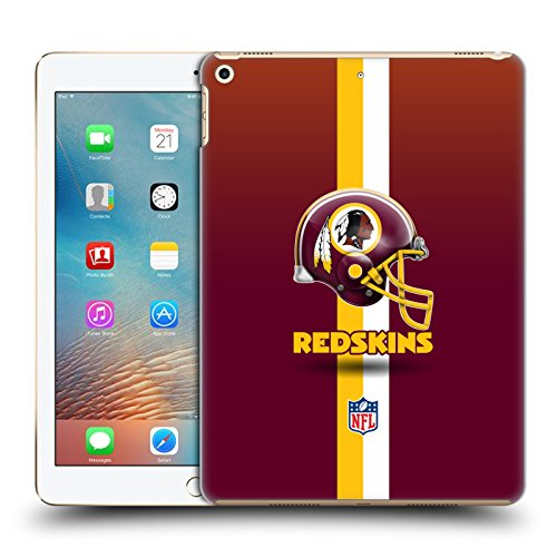 - Official NFL Helmet Washington Redskins Logo Hard Back Case for iPad 9.7 2017 / iPad 9.7 2018