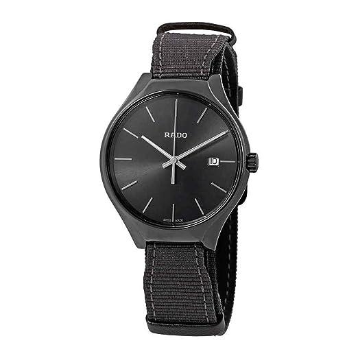 78d6f8cbe229 Reloj Rado de hombre en cerámica gris