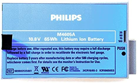 Philips/Hewlett Packard - Batería Medical Philips 10.8V 6Ah