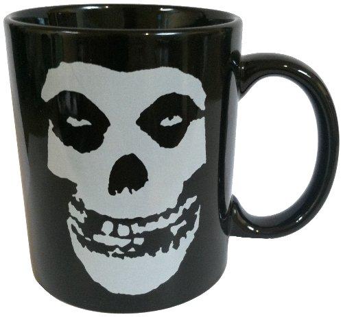 Mugs Misfits Skeleton Logo Designed Mug, 11-Ounce, Black - Misfits Crimson Skeleton