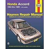 img - for Honda Accord 1984 thru 1989 All Models (Haynes Repair Manual) book / textbook / text book