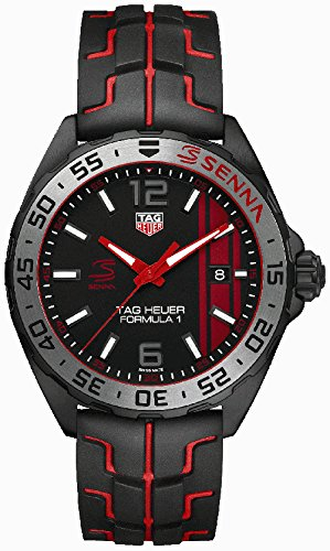 Tag Heuer Formula 1 Black Opalin Dial Mens Watch WAZ1014.FT8027