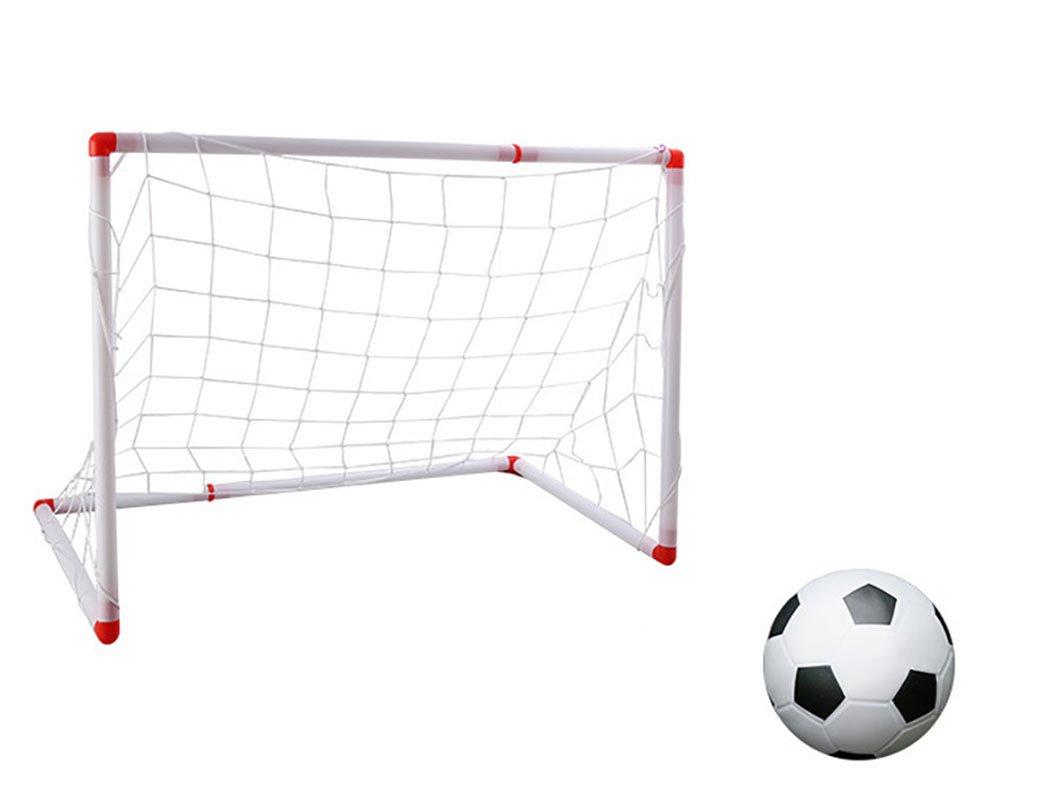 joyibayキッズ用サッカーゴールサッカーボールセットMiniアウトドアインドアFootball Net Toy withエアポンプ B07F6VHYJK M  M