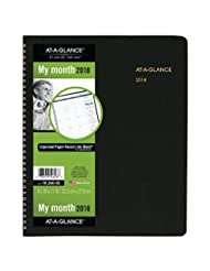 AT-A-GLANCE Monthly Planner, January 2018 - March 2019, 8-7/8...