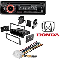 NAKAMICHI NA101 Car Stereo Radio CD/USB/AUX 50Watts x 4 Detachable Face security 828 Radio Mounting Stereo Install Trim Installation Single Din Dash Kit w/Pocket