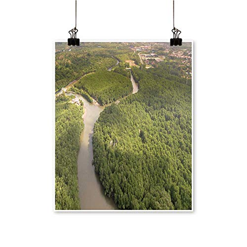 Canvas Wall Art m Grove Borneo Tropical Forest at kenabenua River labu Malaysia for Bathroom Home,28