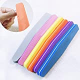 Money coming shop Professional Nail Files Nail Buffer Buffing Slim Crescent Grit Nail makeup Tools diamond spong Nail File Reviews