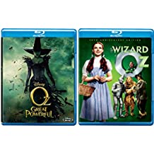 The Wizard of Oz Blu Ray Set Musical Disney Oz The Great and Powerful Classic Bundle Movies