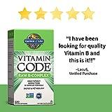 Garden of Life Vitamin B Complex - Vitamin Code Raw