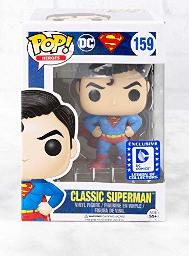 Funko POP! Heroes Classic Superman Legion of Collectors Exclusivo DC Comics Coleccionables (Solo Pop)