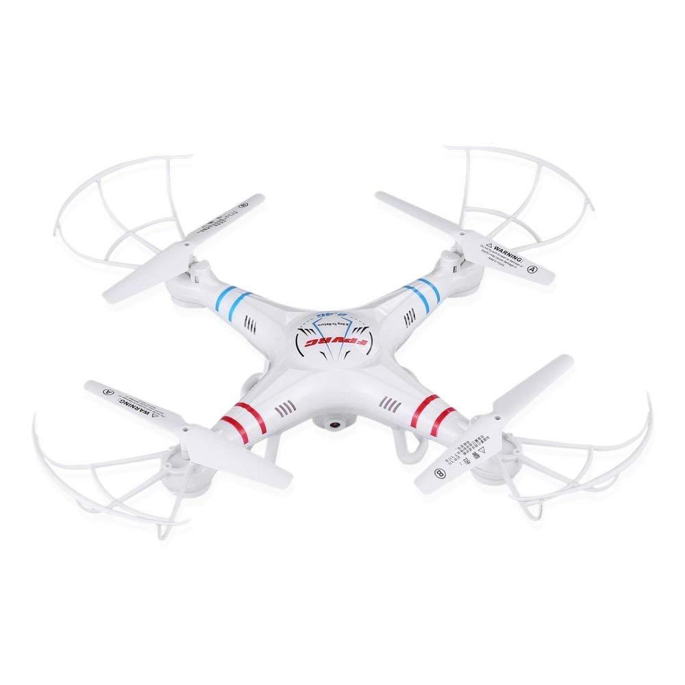 CN Quadcopter-Drohne Mit 0.3Mp Hd-Kamera Und Höhenhaltefunktion, Fpvrc X5C-1 2.4G Headless 3D-Flip-Flugflugzeug One Key Home-Fernsteuerungshubschrauber (Weiß) (X5C-1),A,Einheitsgröße