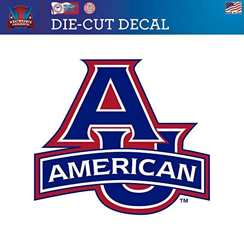 Victory Tailgate American University Eagles Die-Cut Vinyl Decal (Approx 6x6)
