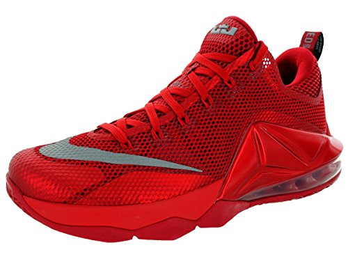 Nike Lebron 12 Low All Over Red - 724557-616 -