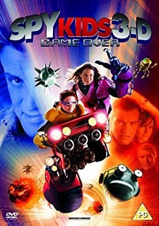 Amazon Com Spy Kids 3 D Game Over Dvd And Glasses Movies Tv