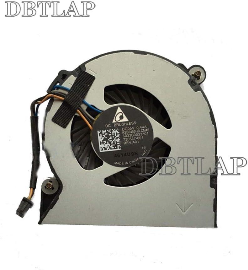 DBTLAP Laptop CPU Cooling Fan Compatible for HP Elitebook 720 820 G1 820 G2 730547-001 KSB0405HB-CM46 CPU Fan