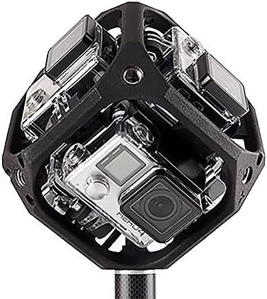 360 Degree Panorama Mount Rig for 6x GoPro Go Pro HERO 3 3 4 Video Accessory