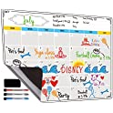 Jancosta Fridge Magnetic Calendar, White Board Planner