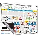 Jancosta Fridge Magnetic Calendar, White Board Planner