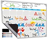 #7: Dry Erase Calendar, Fridge Magnetic Calendar, White Board Planner for Refrigerator, Monthly & Weekly Set by Jancosta (MPB11)