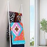 PENGECO Blanket Ladder Towel Shelves Beach Towel